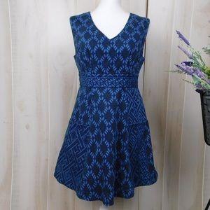 Plenty by Tracey Reese Diamond Geo Denim Dress